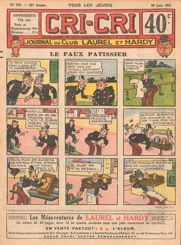 Cri-Cri 1937 - n°976 - 10 juin 1937 - page 1