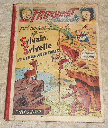 Reliure Fripounet et Marisette 1950 - 1er semestre (bis)
