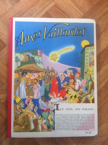 Reliure Ames Vaillantes 1956 - n°25 - du n°42 au n°53