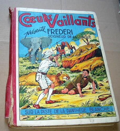 Album Coeurs Vaillants 1950 1951 1952 1953 (4)