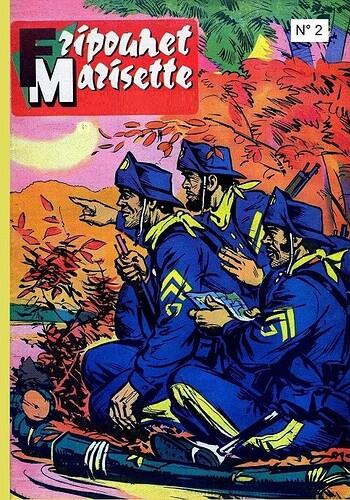 Reliure Fripounet et Marisette 1961  - n°2 - du n°38 au n°48
