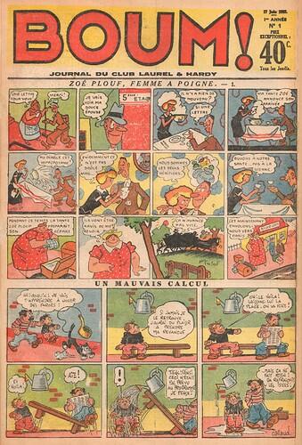 BOUM 1937 - n°1 - page 1 - 17 juin 1937