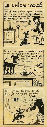 Pat épate 1949 - n°5 - page 14 - Le chien volé - 30 janvier 1940