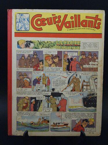 Reliure Coeurs Vaillants 1956 - n°24 - du n°30 au n°41