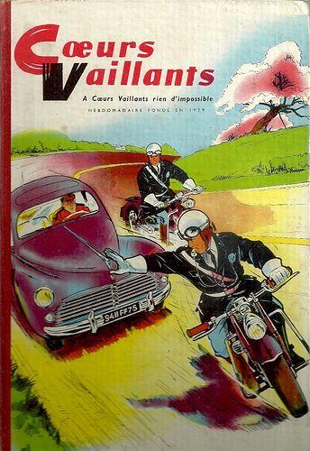 Reliure Coeurs Vaillants 1958 - n°3 - du n°15 au n°26