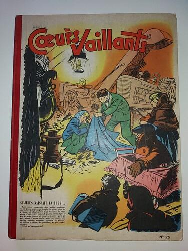 Reliure Coeurs Vaillants 1956 - n°25 - du n°42 au n°53