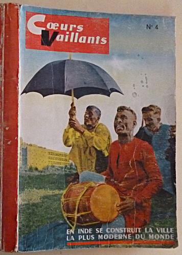 Reliure Coeurs Vaillants 1962 - n°4 - du n°8 au n°18