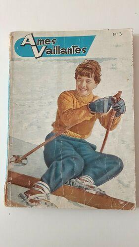 Reliure Ames Vaillantes 1961 - n°3 - du n°49 du 28 décembre 1961 au n°7 du 15 février 1962 (bis)