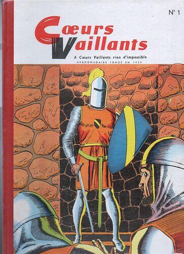 Reliure Ames Vaillantes 1957-1958  - n°1 - du n°43 au n°52 et n°1 et 2