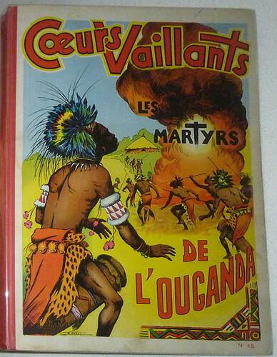 Reliure Coeurs Vaillants 1954 - n°18 - du n°35 au n°52