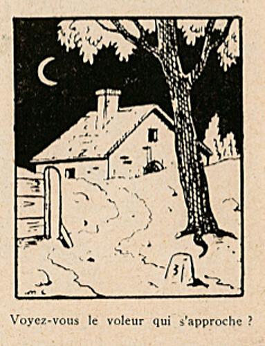 Pat épate 1949 - n°8 - page 14 - Voyez-vous le voleur - 20 février 1949