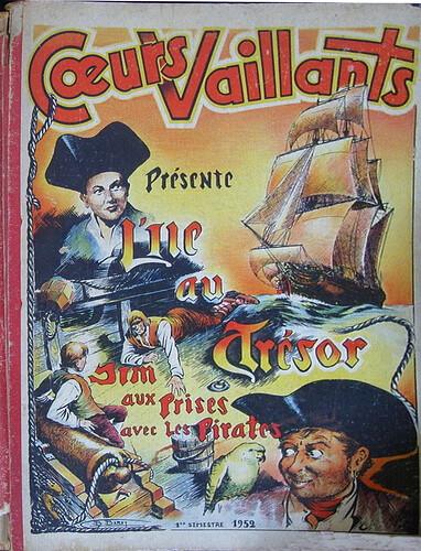 Reliure Coeurs Vaillants 1952 - 1e semestre (ter)