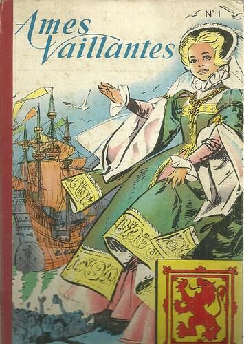 Reliure Ames Vaillantes 1959 ou 1960 - n°1