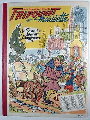 Reliure Fripounet et Marisette 1957 - n°23 - du n°18 au n°34