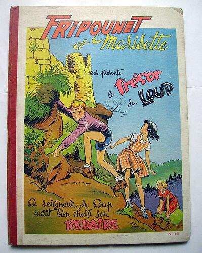 Reliure Fripounet et Marisette 1954 - n°15 - du n°1 au n°26