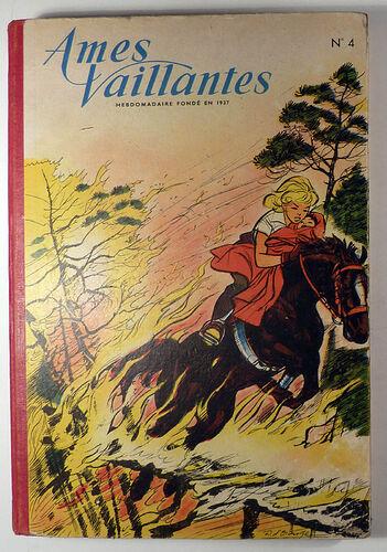Reliure Ames Vaillantes 1958 - n°4 - du n°27 au n°38