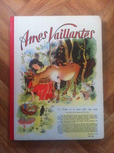 Reliure Ames Vaillantes 1956 - n°24 - du n°30 au n°41