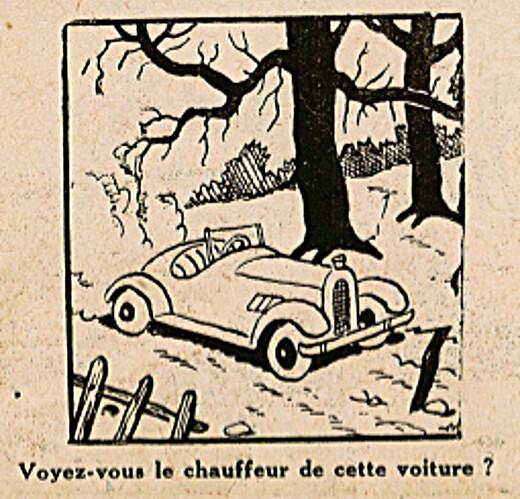 Pat épate 1949 - n°10 - page 14 - Voyez-vous le chauffeur - 6 mars 1949