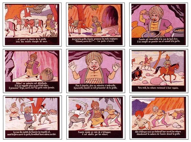 Ali Baba par Cuvillier (6)