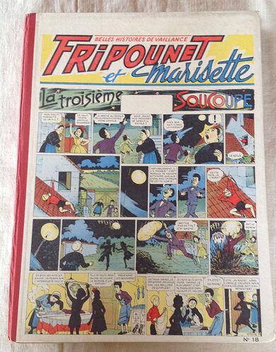 Reliure Fripounet et Marisette 1955 - n°18 - du n°26 au n°52