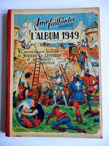 Reliure Ames Vaillantes 1949 - 2e semestre (27 à 52)
