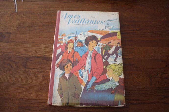 Reliure Ames Vaillantes 1958 - n°3 - du n°15 au n°26 (bis)