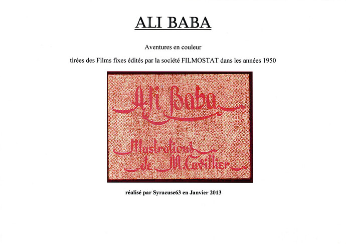 Ali Baba par Cuvillier (1)