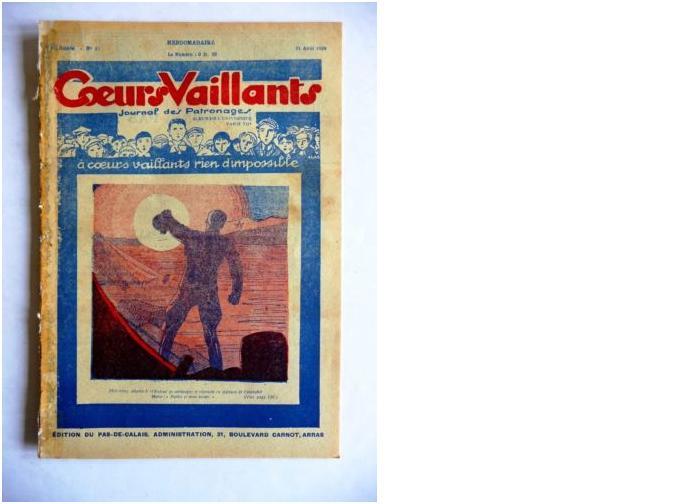 Coeurs Vaillants - Journal des patronages - 1929 - n°35 - Edition du Pas-de-Calais