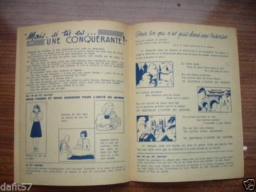 Ames Vaillantes - Edition des chefs d'équipe n°1 - janvier 1944 (4)