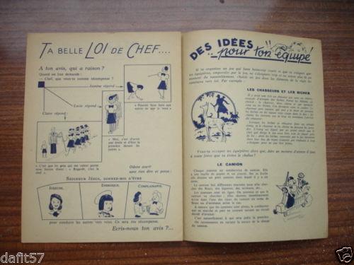 Ames Vaillantes - Edition des chefs d'équipe n°1 - janvier 1944 (5)