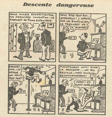 Belles Histoires de vaillance n°24 - Descente dangereuse
