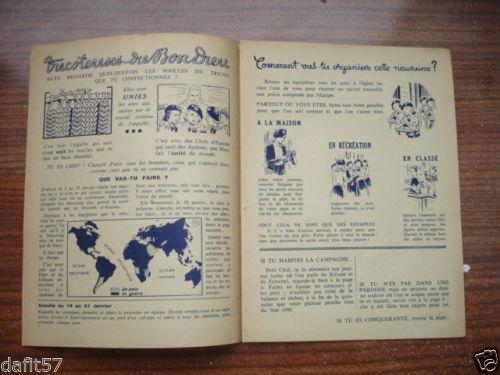 Ames Vaillantes - Edition des chefs d'équipe n°1 - janvier 1944 (3)