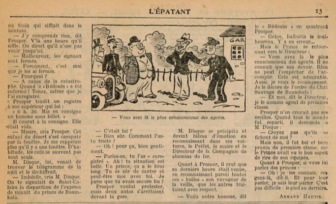 L'Epatant 1936 - n°1449 - Incognito - 7 mai 1936 - page 13