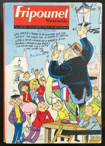 Reliure Fripounet et Marisette 1962  - n°7 - du n°41 au n°51