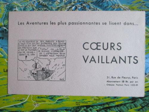 Buvard CV - 1934 - Tintin et les cigares du pharaon (1)