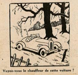 Pat épate 1949 - n°10 - Personnage caché - 6 mars 1949 - page 14