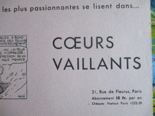 Buvard CV - 1934 - Tintin et les cigares du pharaon (4)