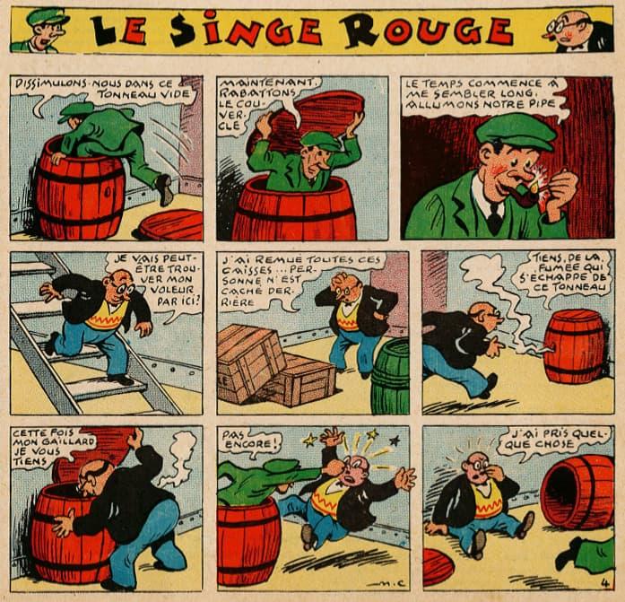 Pat épate 1949 - n°17 - Le Singe Rouge - 24 avril 1949 - page 1