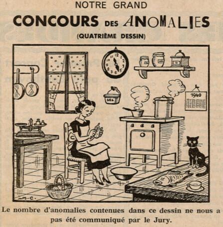 Ames Vaillantes 1938 - n°22 - page 4 - Grand Concours des Anomalies (4) - 2 juin 1938