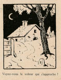 Pat épate 1949 - n°8 - Personnage caché - 20 février 1949 - page 14