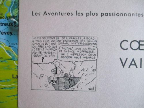 Buvard CV - 1934 - Tintin et les cigares du pharaon (3)