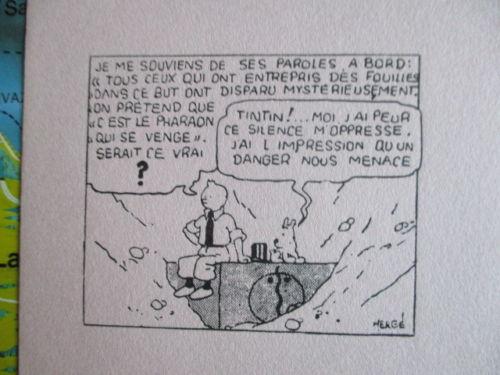 Buvard CV - 1934 - Tintin et les cigares du pharaon (2)