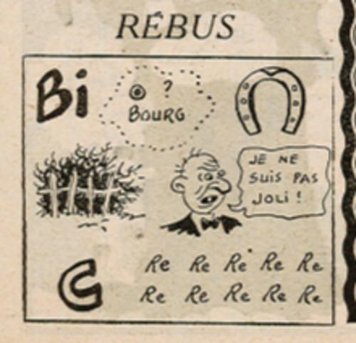 Ames Vaillantes 1938 - n°4 - page 2 - Rébus - 27 janvier 1938